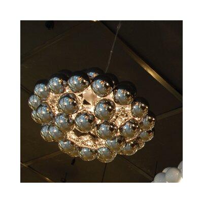Beads Octo 1-Light Globe Pendant Finish: Chrome