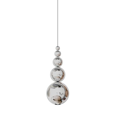 Bubble 1-Light Mini Pendant Color: Chrome