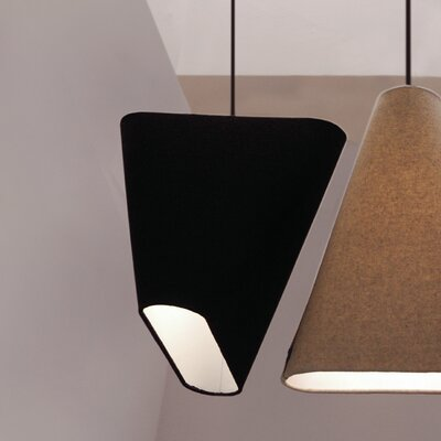 MNM 15.97 Wool Novelty Pendant Shade Color: Charcoal