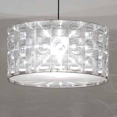 Lighthouse Polycarbonate Drum Pendant Shade Size: 7.9 H x 11.8 W x 11.8 D