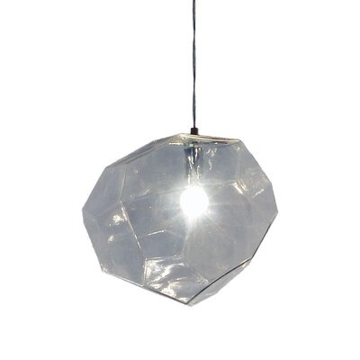 Asteroid 1-Light Mini Pendant Finish: Clear