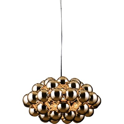 Beads Octo 1-Light Globe Pendant Finish: Copper