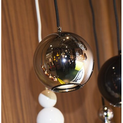 Boule 1-Light Globe Pendant Color: Chrome