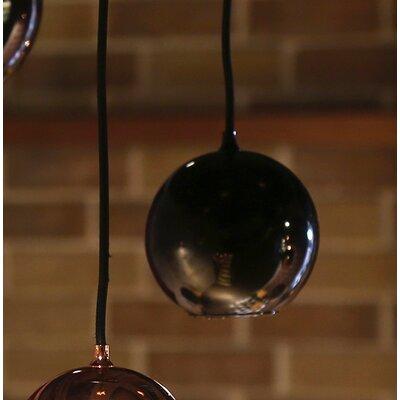 Boule 1-Light Globe Pendant Color: Copper