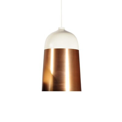 Glaze 1-Light LED Mini Pendent Size: 20.1 H x 12.6 W x 12.6 D