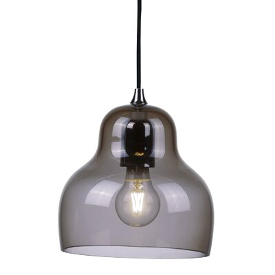 Jelly 1 Light LED Mini Pendant Shade Color: Gray