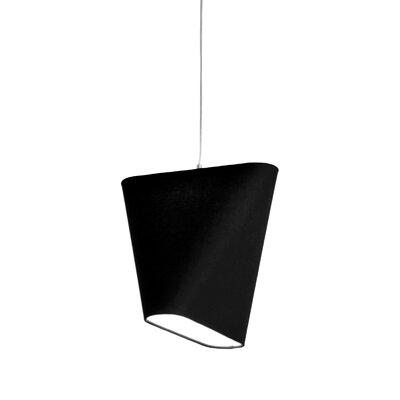 MNM 23.6 Linen Novelty Lamp Shade Color: Charcoal