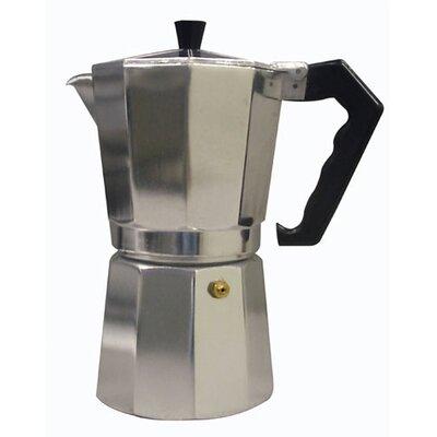 Aluminum Stovetop Espresso Maker (3 Cup) S270-03