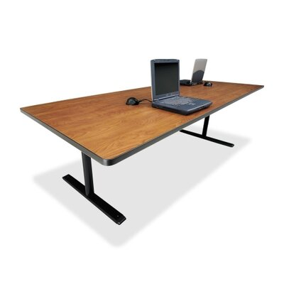 Rectangular Conference Table,42x96x29,Wild Cherry