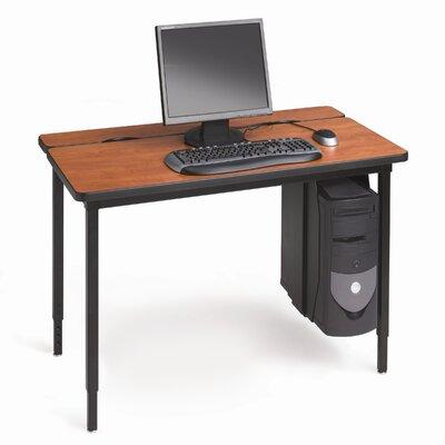 Voltea Training Table Color: Grey Mist/Quartz, Size: 48