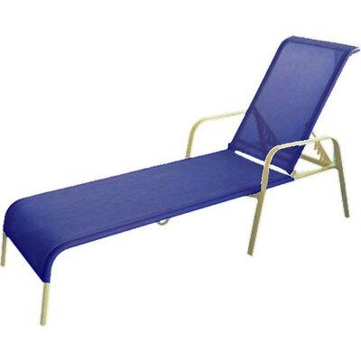 Aubrey Chaise Lounge Fabric: Blueberry