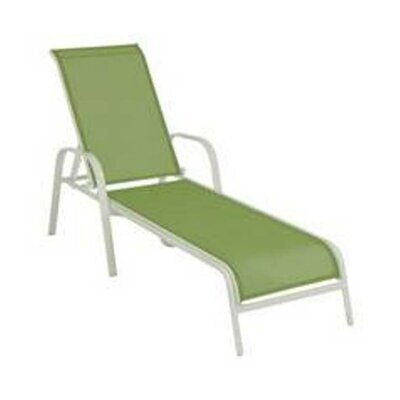 Aubrey Green Chaise Lounge