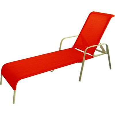 Fantasy Chaise Lounge Fabric: Red