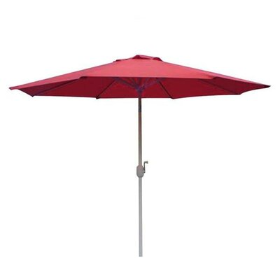 7.5 Aubrey Market Umbrella Fabric: Red