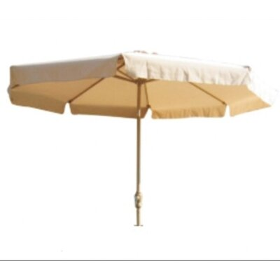 9 Aubrey Drape Umbrella Fabric: Sand