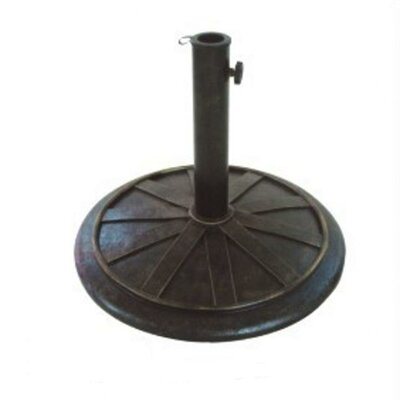 13 Free Standing Round Cast Stone Umbrella Base