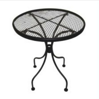 Bissette Wrought Iron Side Table