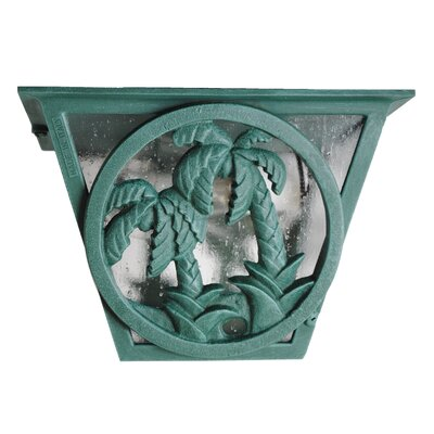 Americana 2-Light Flush Mount Finish: Old World