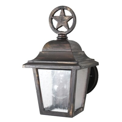 "Melissa Americana Lone Star Series 10.25"" Wall Lantern - Finish: Old Bronze at Sears.com"