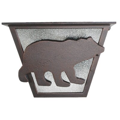 Americana 2-Light Flush Mount Finish: Architectural Bronze