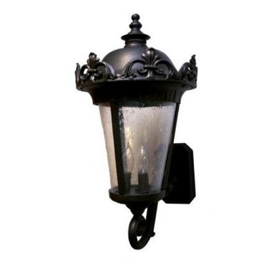 "Melissa Parisian PE3900 Series 32"" Wall Lantern - Finish: Old World at Sears.com"