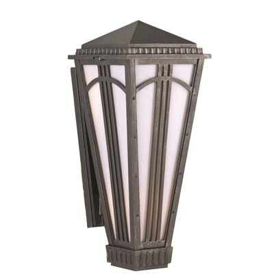 "Melissa Parisian PE4400 Series Semi Flush Wall Brackets 20.5"" Wall Lantern - Finish: Old World at Sears.com"