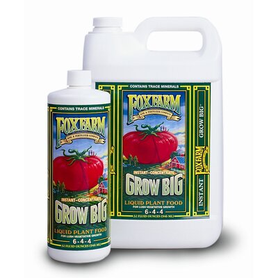 FoxFarm Grow Big Liquid Concentrate Fertilizer - Size: 2.5 Gallons at Sears.com