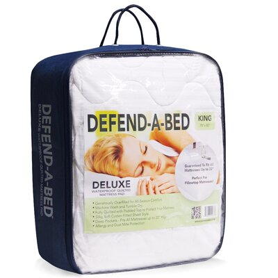 Classic Brands Deluxe Defend-A-Bed Quilted Waterproof Mattress Protector - Size: Twin XL