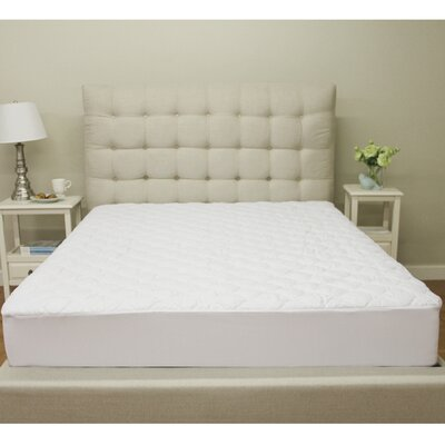 Deluxe Defend-A-Bed Polyester Mattress Pad Size: Twin