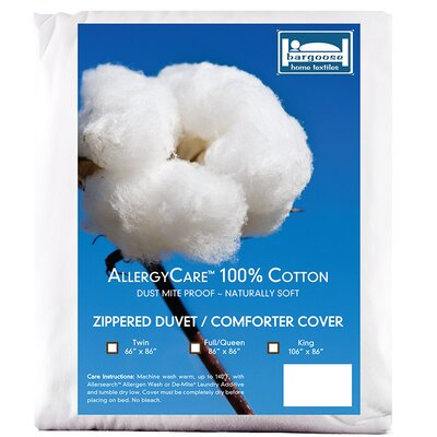 Allergy Care Duvet Cover Size: King