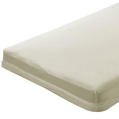 Zippered Natural Cotton Crib Mattress Cover
