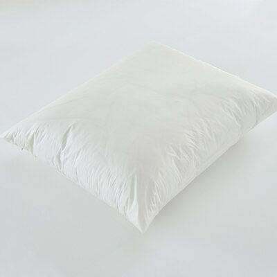 Zippered Polyester Pillow Protector in Off-White Size: Queen