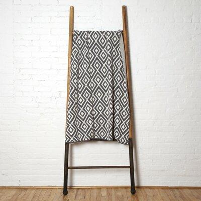 Mod Square Throw Blanket Color: Khaki
