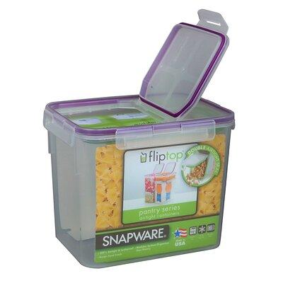 Snapware 17 Cup Medium Flip Top Rectangular Storage Container