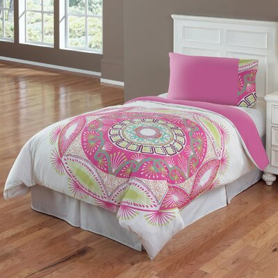 Sun Medallion Comforter Set Size: Twin