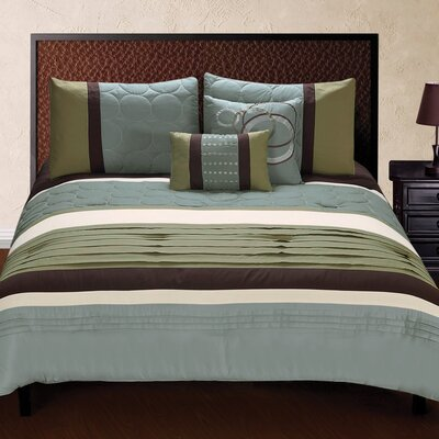 Jackson 5 Piece Comforter Set Size: King