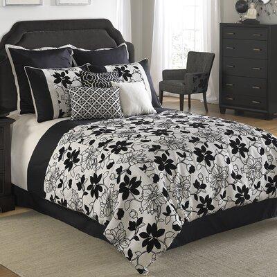 Ebony and Ivory Comforter Set Size: King