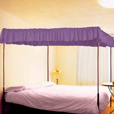 Royal Canopy Size: Full, Color: Fuchsia