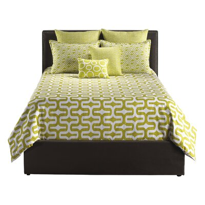 Mod Citron 6 Piece Bed in a Bag Set Size: Queen