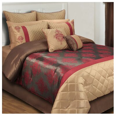 Monarch 8 Piece Comforter Set Size: King
