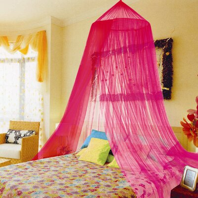 Ferncliff Bed Canopy Color: Pink