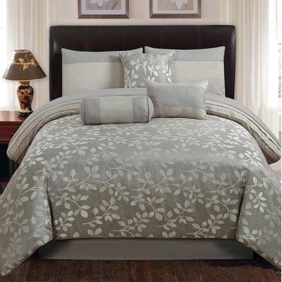 7 Piece Comforter Set Size: Full/Queen