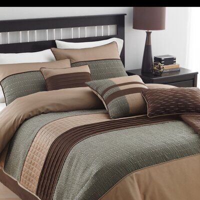 Country Manor Rexwell 7 Piece Comforter Set Size: Full/Queen