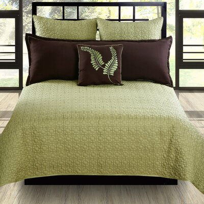 Hallmart Collectibles Matrix Coverlet Set - Size: King at Sears.com