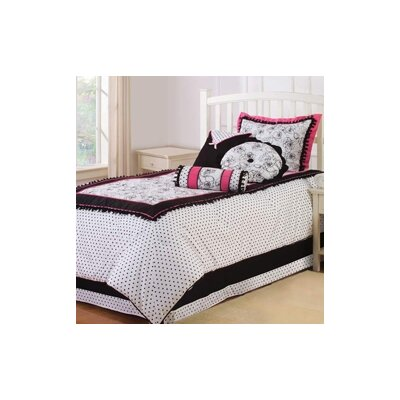 3 Piece Comforter Set Size: Twin