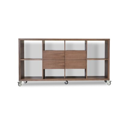 Malta 34.5 Bookcase with Drawers Finish: White Lacquer Product Image 328