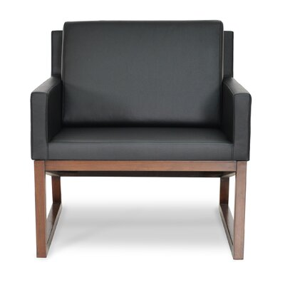 Nova Armchair Upholstery: Black