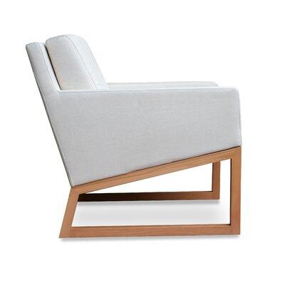 Nova Armchair Upholstery: White