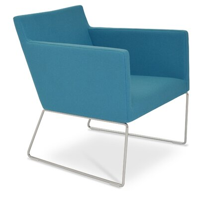 Harput Arm Chair Finish: Turquise