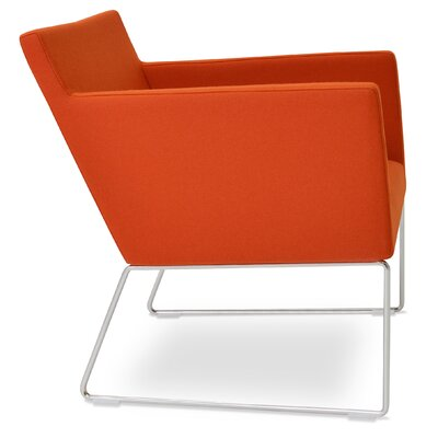 Harput Armchair Upholstery: Orange